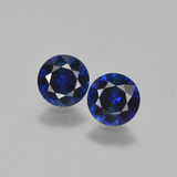 thumb image of 1.1ct Diamond-Cut Blue Sapphire (ID: 449655)