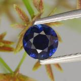 thumb image of 0.7ct Diamond-Cut Blue Sapphire (ID: 449704)