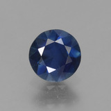 thumb image of 0.8ct Diamond-Cut Blue Sapphire (ID: 449769)
