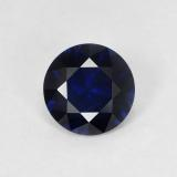 thumb image of 0.8ct Diamond-Cut Blue Sapphire (ID: 449779)