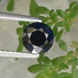 thumb image of 0.8ct Diamond-Cut Blue Sapphire (ID: 449802)