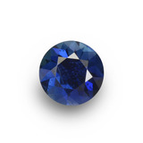 thumb image of 0.6ct Diamond-Cut Blue Sapphire (ID: 449826)