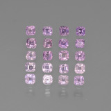 thumb image of 1.5ct Octagon Step Cut Multi Pink Sapphire (ID: 450340)