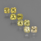 thumb image of 0.2ct Octagon Step Cut Light Yellow Sapphire (ID: 450364)