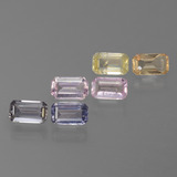 thumb image of 1.9ct Octagon Step Cut Multicolor Sapphire (ID: 450582)
