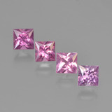 thumb image of 1.8ct Princess-Cut Rose Pink Sapphire (ID: 450831)