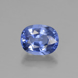 thumb image of 2.4ct Oval Facet Blue Sapphire (ID: 450851)