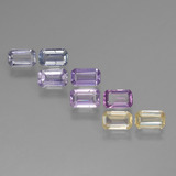 thumb image of 2.7ct Octagon Step Cut Multicolor Sapphire (ID: 450968)