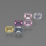 thumb image of 0.2ct Octagon Step Cut Multicolor Sapphire (ID: 451412)