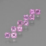 thumb image of 0.1ct Octagon Step Cut Pink Sapphire (ID: 452209)