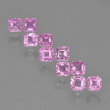 thumb image of 0.2ct Octagon Step Cut Pink Sapphire (ID: 452334)