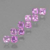 thumb image of 1.7ct Octagon Step Cut Pink Sapphire (ID: 452339)