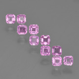 thumb image of 0.1ct Octagon Step Cut Light Pink Sapphire (ID: 452342)
