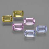 thumb image of 1.9ct Octagon Step Cut Multicolor Sapphire (ID: 452412)