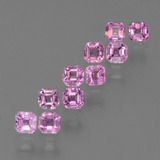 thumb image of 0.2ct Octagon Step Cut Pink Sapphire (ID: 452428)