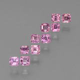 thumb image of 0.2ct Octagon Step Cut Hot Pink Sapphire (ID: 452434)