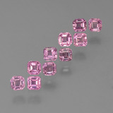 thumb image of 0.2ct Octagon Step Cut Pink Sapphire (ID: 452438)