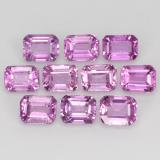 thumb image of 3ct Octagon Step Cut Pink Sapphire (ID: 452510)