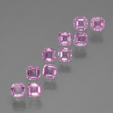 thumb image of 0.1ct Octagon Stufenschliff Light Royal Purple Pink Saphir (ID: 452567)