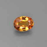 thumb image of 1.2ct Oval Facet Yellow Golden Sapphire (ID: 453004)