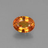 thumb image of 1.7ct Oval Facet Yellow Golden Sapphire (ID: 453010)