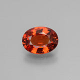 thumb image of 1.5ct Oval Facet Orange Sapphire (ID: 453113)