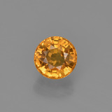 thumb image of 0.7ct Round Facet Yellow Golden Sapphire (ID: 453139)