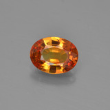 thumb image of 1.3ct Oval Facet Yellow Golden Sapphire (ID: 453288)