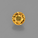 thumb image of 0.7ct Round Facet Yellow Golden Sapphire (ID: 453386)