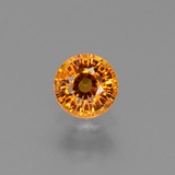 thumb image of 0.6ct Round Facet Yellow Golden Sapphire (ID: 453424)