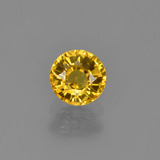 thumb image of 0.8ct Round Facet Yellow Golden Sapphire (ID: 453440)