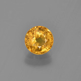thumb image of 0.7ct Round Facet Yellow Golden Sapphire (ID: 453445)
