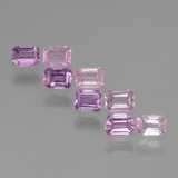 thumb image of 2.1ct Octagon Step Cut Pink Sapphire (ID: 453692)