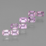 thumb image of 0.3ct Octagon Step Cut Pinkish Violet Purple Sapphire (ID: 453697)