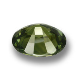 4.54 ct Oval Facet Green Sapphire Gem 10.83 mm x 9.1 mm (Photo C)