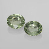 thumb image of 1.5ct Oval Facet Green Sapphire (ID: 459808)