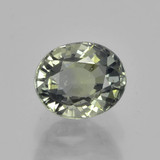 thumb image of 1ct Oval Facet Green Sapphire (ID: 460048)