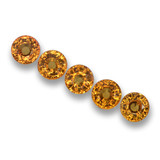 thumb image of 3.4ct Round Facet Yellow Golden Sapphire (ID: 460803)