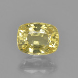 thumb image of 1ct Cushion-Cut Yellow Golden Sapphire (ID: 460890)