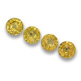 thumb image of 2.4ct Round Facet Yellow Sapphire (ID: 460894)