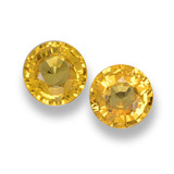 thumb image of 1.2ct Round Facet Yellow Golden Sapphire (ID: 461040)