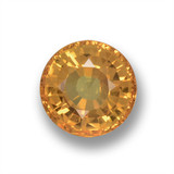 thumb image of 0.6ct Round Facet Yellow Golden Sapphire (ID: 461105)