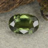 thumb image of 0.9ct Oval Facet Green Sapphire (ID: 461322)