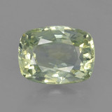 thumb image of 1.2ct Cushion-Cut Green Sapphire (ID: 461343)