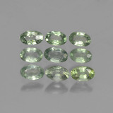 thumb image of 2.9ct Oval Facet Green Sapphire (ID: 461963)