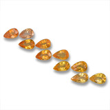 thumb image of 0.3ct Pear Facet Yellow Golden Sapphire (ID: 461996)