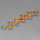 thumb image of 1.4ct Marquise Facet Orange Sapphire (ID: 462039)