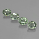 thumb image of 3.3ct Oval Facet Green Sapphire (ID: 462543)