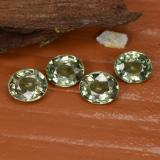 thumb image of 0.8ct Oval Facet Green Sapphire (ID: 462548)