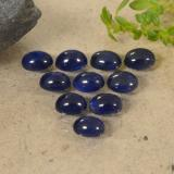 thumb image of 2.9ct Oval Cabochon Blue Sapphire (ID: 470791)